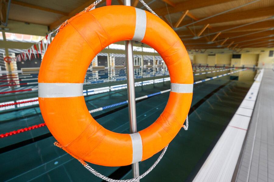 Corona-Lage in Mittelsachsen: Viele Kinder bleiben Nichtschwimmer