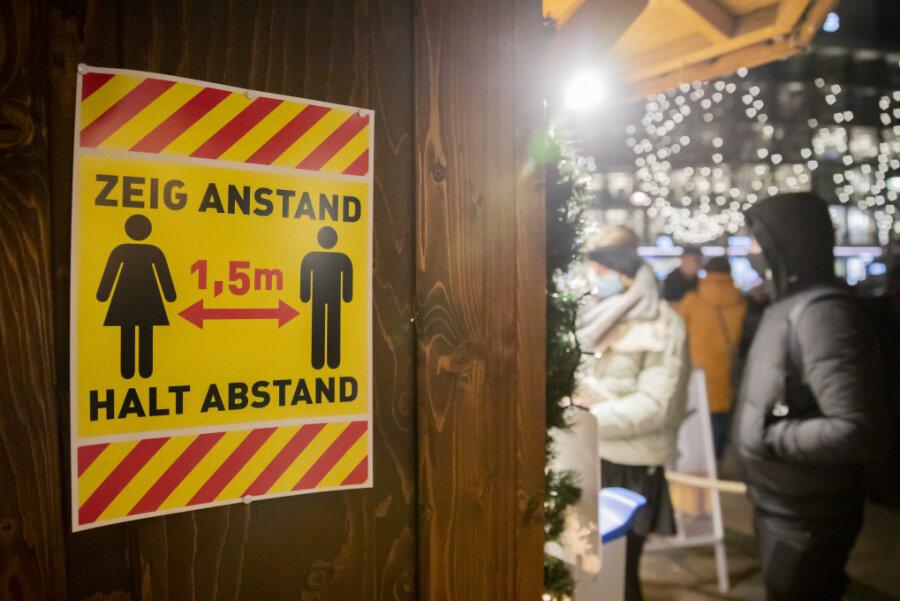 Corona-Lage in Sachsen: Weihnachtsmärkte trotz Pandemie geplant