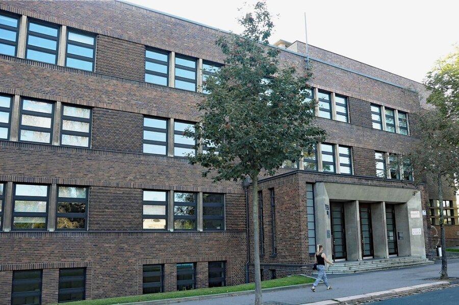 An der Zwickauer Pestalozzi-Oberschule wurde eine ganze Schulklasse in Quarantäne geschickt.
