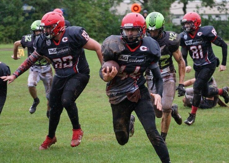 Spektakulären Sport gab es bei Heimspielen der American-Football-Spieler der Crusaders in diesem Jahr nur einmal zu sehen.