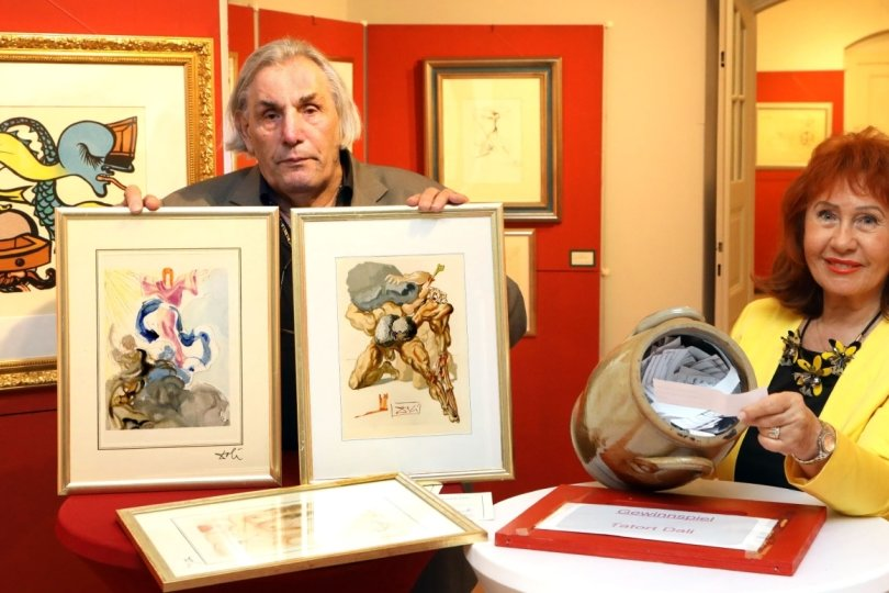 Dalí-Ausstellung: Von Waldenburg auf Welttournee