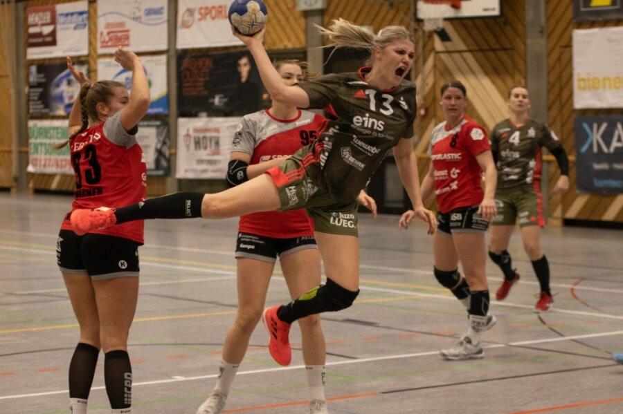 In Nürtingen avancierte Pia Adams mit acht Treffern zur erfolgreichsten BSV-Werferin. Nach nur drei Monaten im Zwickauer Team hat sich die 25-Jährige als feste Größe etabliert.