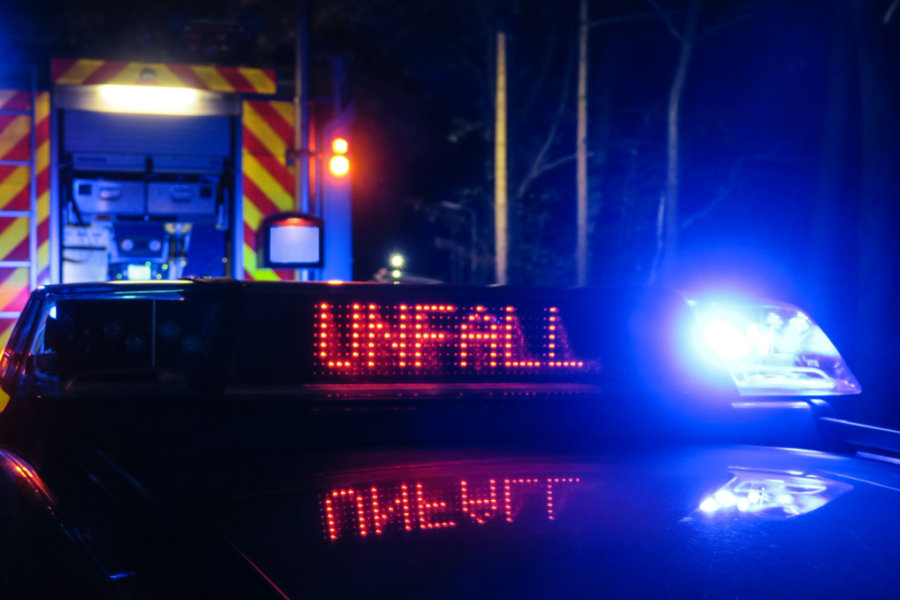 Drei Schwerverletzte bei Unfall in Adorf/Vogtland