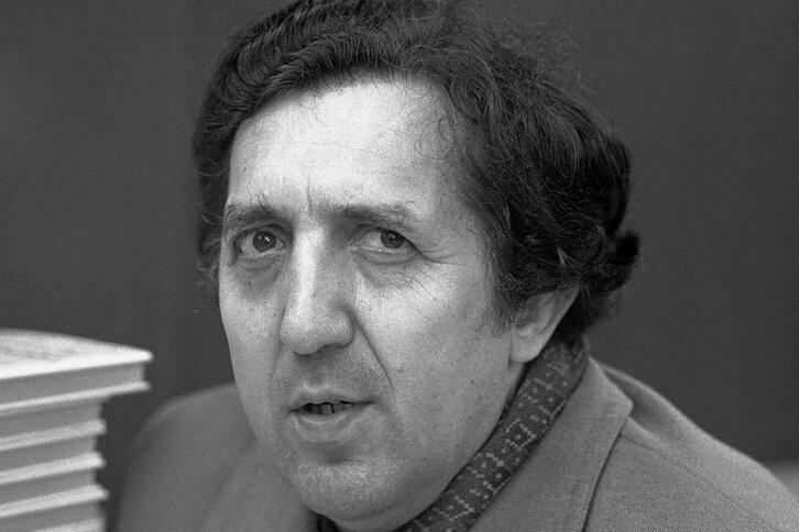 Eberhard Hilscher, hier 1983 in Berlin, war in der DDR weder Staatsschriftsteller noch im Westen gefeierter Dissident - und lief so gewissermaßen auch unter dem Radar.
