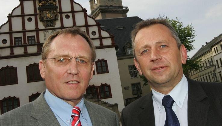"""<p class=""""artikelinhalt"""">Die Gewinner: Manfred Eberwein (l.) und Uwe Täschner. </p>"""