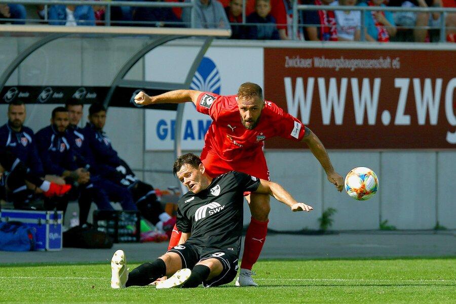 FSV Zwickau verliert 1:2 gegen Uerdingen