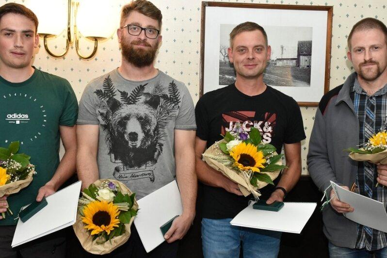 Gemeinde Muldenhammer würdigt Lebensretter und ehrenamtliches Engagement