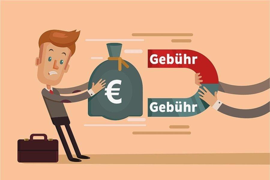 Große Gebührenunterschiede bei Filialkonten in Sachsen