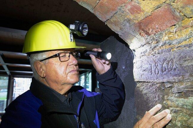 Der sogenannte 1860er-Keller gehört zu jenen Kellern, die in den nächsten Jahren restauriert werden sollen. Doch noch fehlt Gert Müller und seinen Bergknappen das Geld.