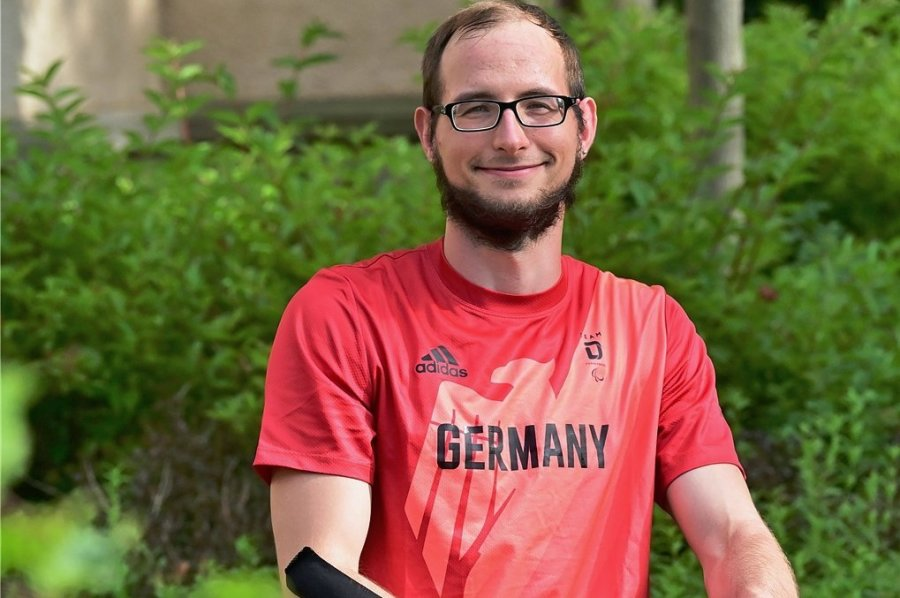 Oliver Hörauf vom mehrfachen Deutschen Meister Chemnitzer BC nimmt zum zweiten Mal an den Paralympics teil. Foto: Wolfgang Schmidt