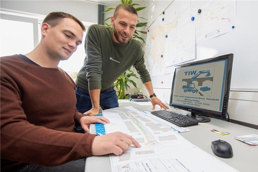 TIW-Chef Woldemar Buchmüller (rechts) und sein künftiger Co-Geschäftsführer Lucas Ottiger haben am gleichen Tag Geburtstag.