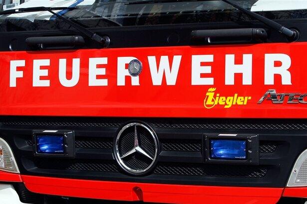 Kellerbrand in Glauchau