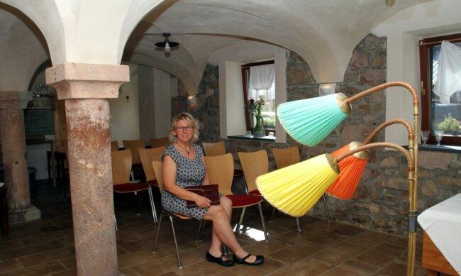 Kathrin Leberecht freut sich auf ihre erste Veranstaltung im Kulturgewölbe am Steinbach.