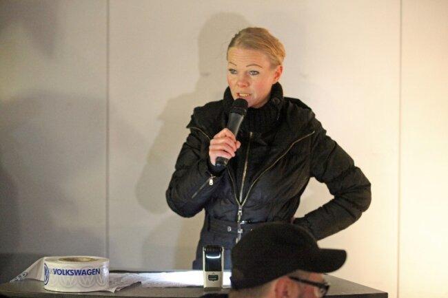 Katrin Oertel - Pegidasprecherin