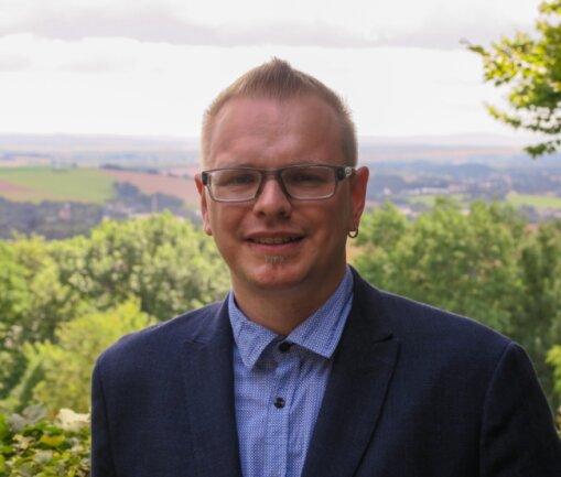 Sebastian Bernhardt (Linke) lebt in Hohenstein-Ernstthal. Seine Heimat ist auch das Erzgebirge.