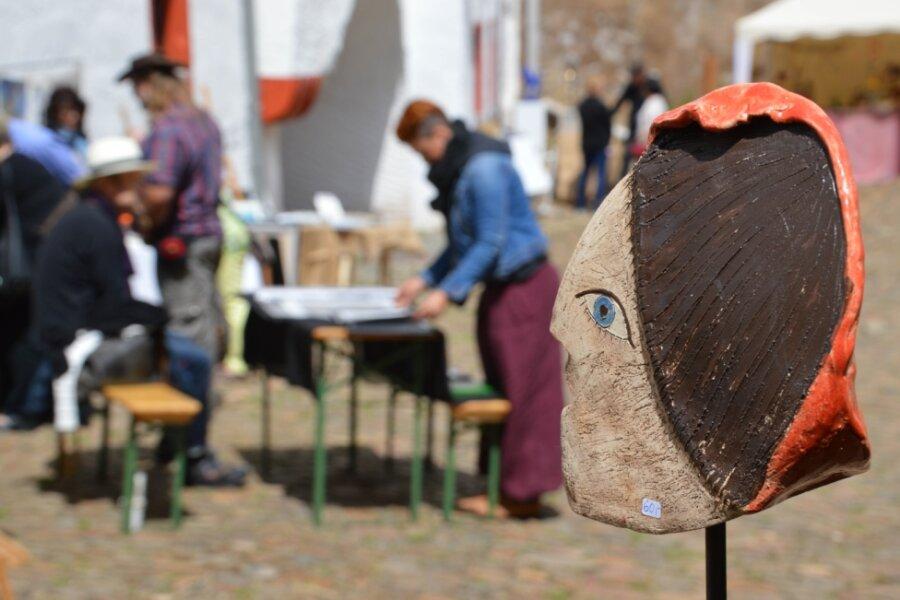 Markt der Künste auf Schloss Rochsburg