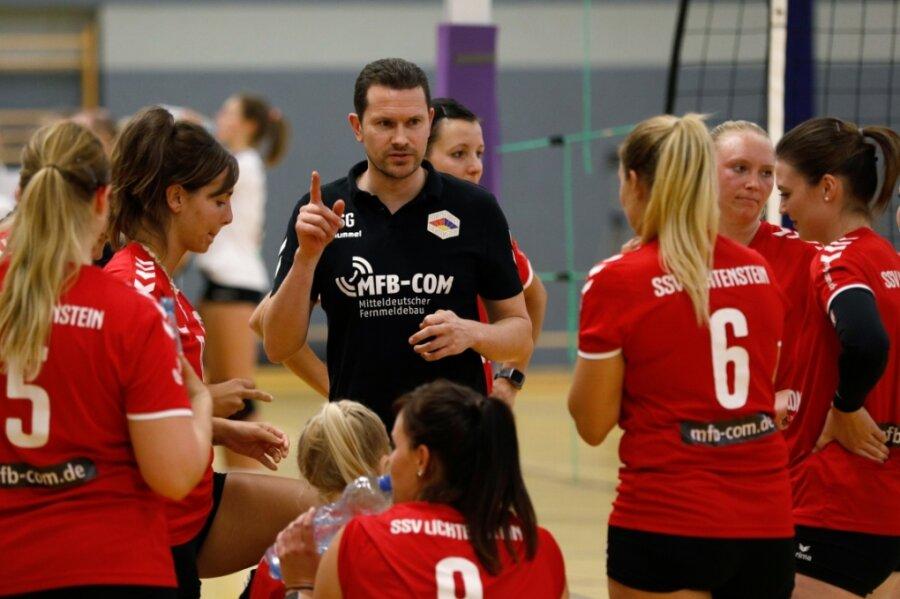 Trainer Sascha Grieshammer will die Lichtensteiner Volleyballerinnen auch in dieser Saison wieder zum Klassenerhalt führen. Gibt es die ersten Punkte schon am Samstag in Chemnitz?