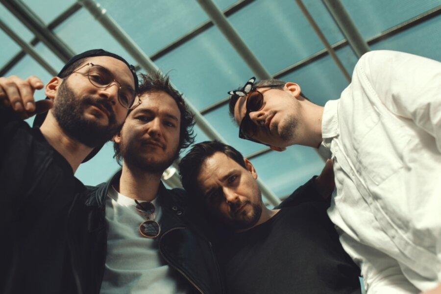 Im Januar wird die Indie-Band Kytes auf Konzertbühnen in London und Manchester stehen, am Samstagabend spielen die Münchener im Rahmen des Straßenfestivals auf dem Mittweidaer Technikumplatz.