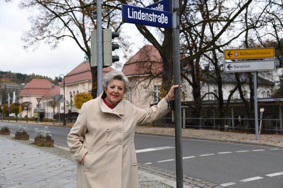 """Schauspielerin Marie Luise Marjan hat einige Tage in Bad Elster verbracht. Als """"Mutter Beimer"""" aus der TV-Serie Lindenstraße wurde sie einem Millionenpublikum bekannt."""