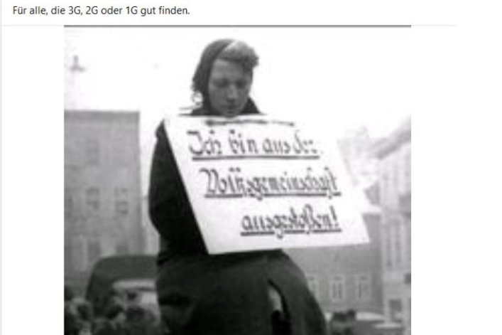 Ein Facebook-Beitrag der WHZ-Professorin Ines Bruhn.