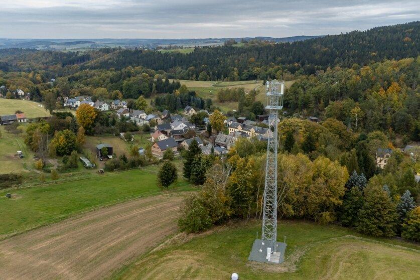 Neuer Funkmast in Brunn geht Anfang November in Betrieb