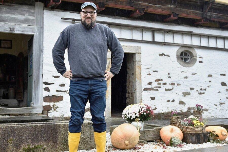 Steffen Retzlaff, neuer Chef des Vogtländischen Freilichtmuseums.