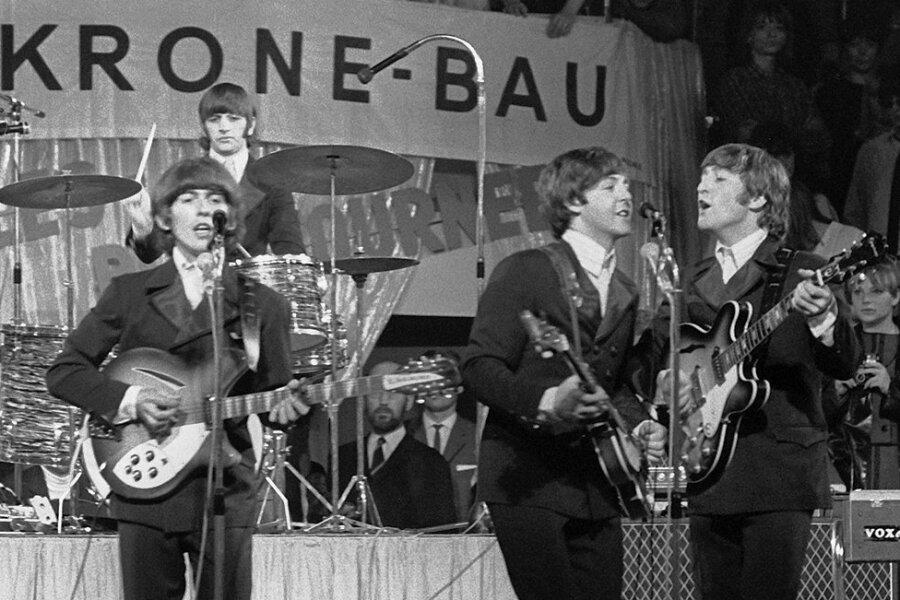 Coole Jungs: Paul McCartney (links) und John Lennon.