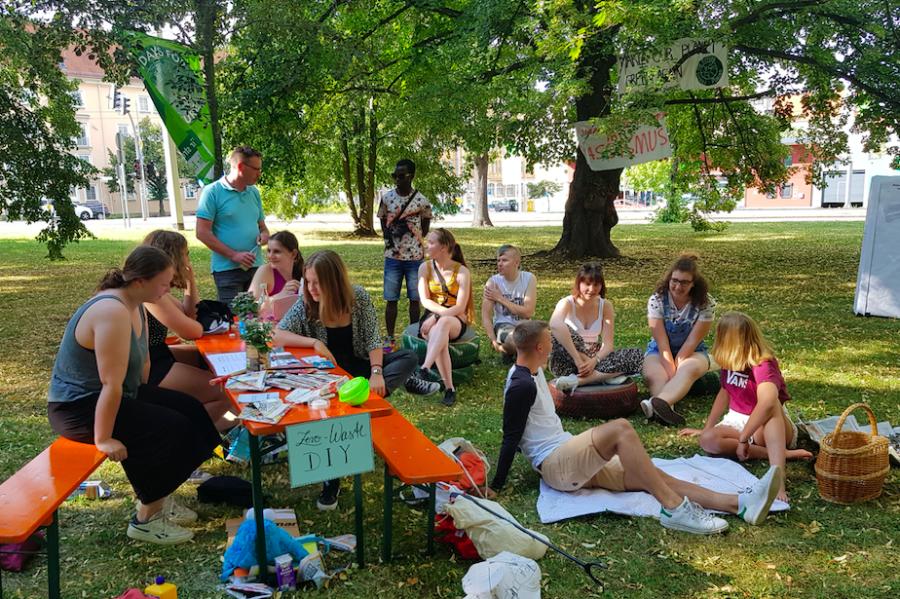 Plauen: Picknick-Demo für Vielfalt