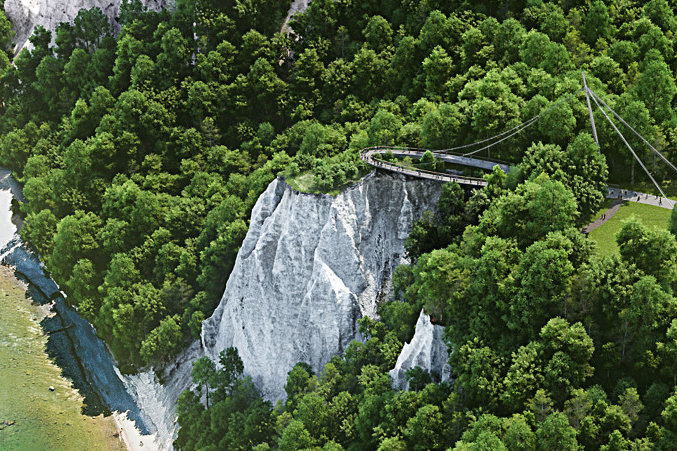 Rügens neue Aussicht: Der Skywalk am Königsstuhl