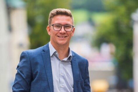 Der 34-jährige Silvio Heider aus Niederdorf tritt bei der Bundestagswahl am 26. September für die SPD an.