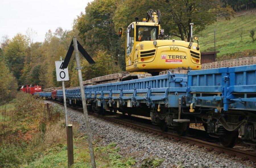 Sperrungen durch Bau von Bahnanlagen