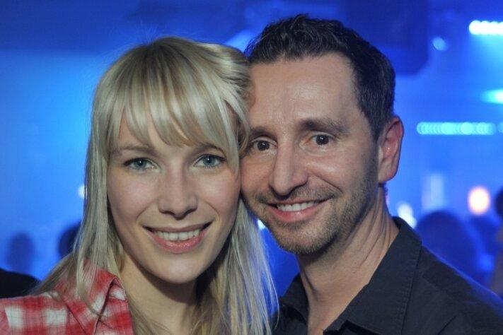 Mandy Lomscher und André Donath wollen in der Villa Esche heiraten. Das Foto stammt aus Zeiten ihres Kennenlernens.