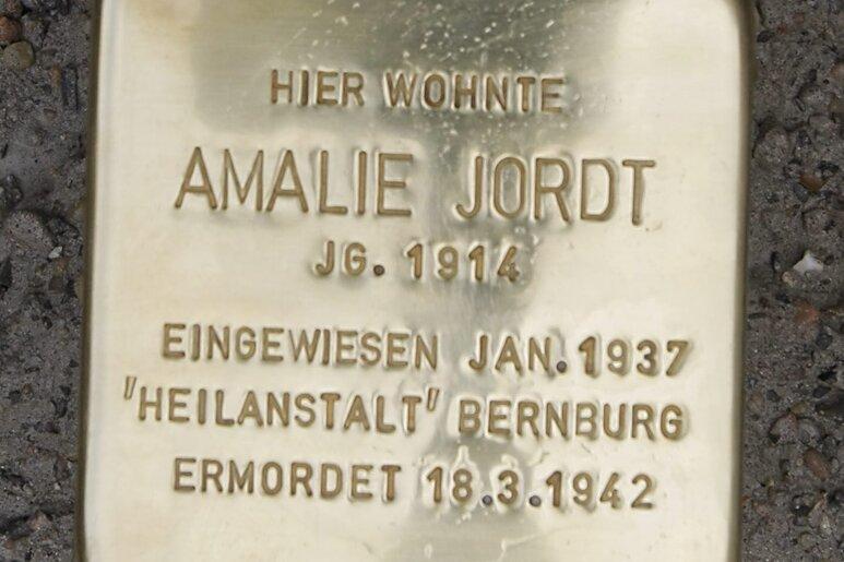 Stolperstein in Chemnitz verschwunden