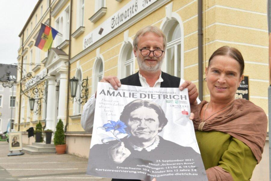 Theaterstück erweckt Amalie Dietrich
