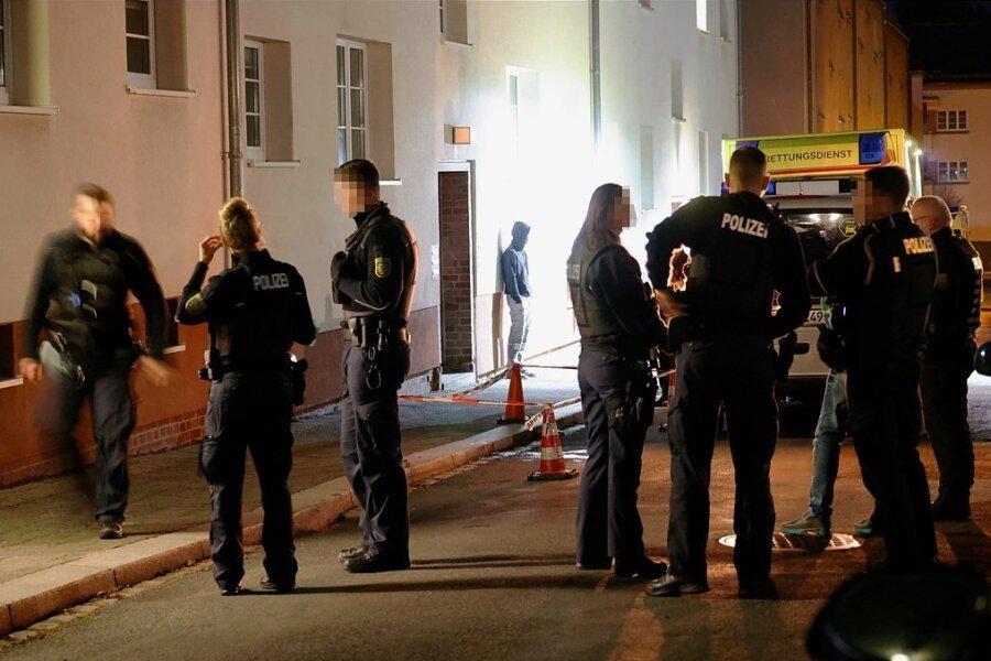 Polizei und Rettungskräfte waren in der Nacht zum 19. Oktober in die Straße Grenzgraben in Bernsdorf gerufen worden.