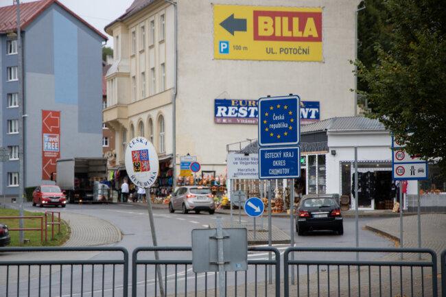 Grenzübergang Bärenstein