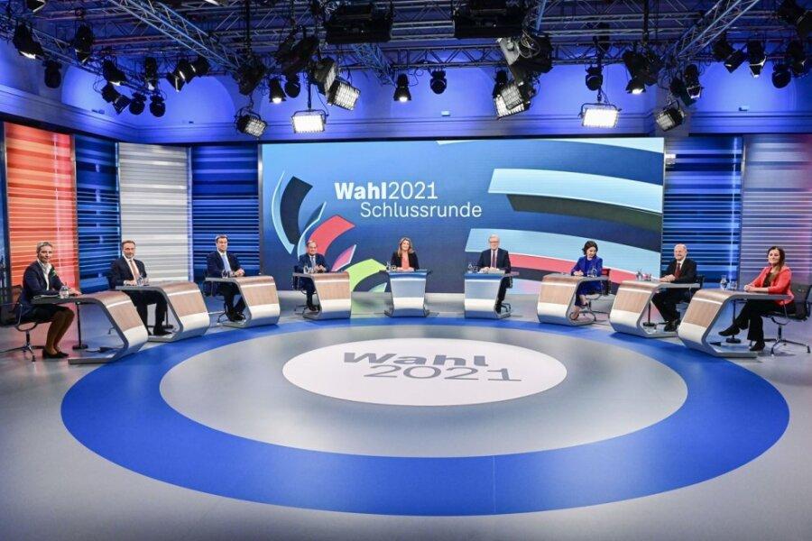 """TV-Format """"Die Schlussrunde"""" in der Analyse: Die Koalitionsbildung wird eine harte Nuss"""
