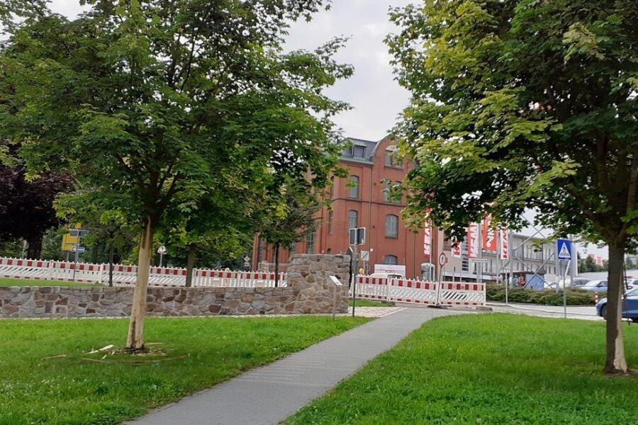 Im Massi-Park waren vier Bäume beschädigt worden.