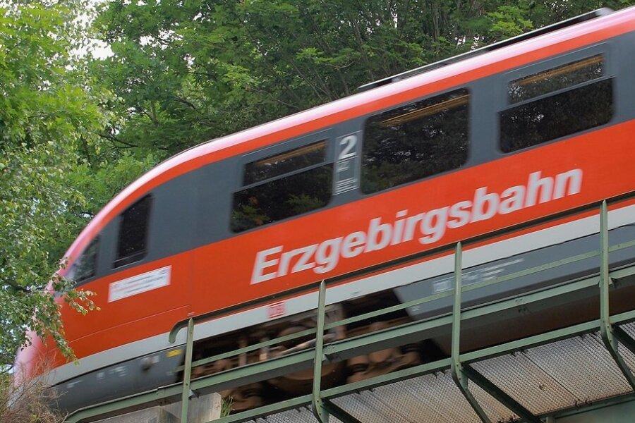 Viele Züge fallen aus: Erzgebirgsbahn erneut von Streik betroffen