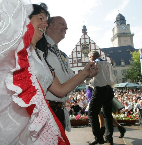 Zehntausende feierten am Wochenende in Plauen den Tag der Vogtländer.