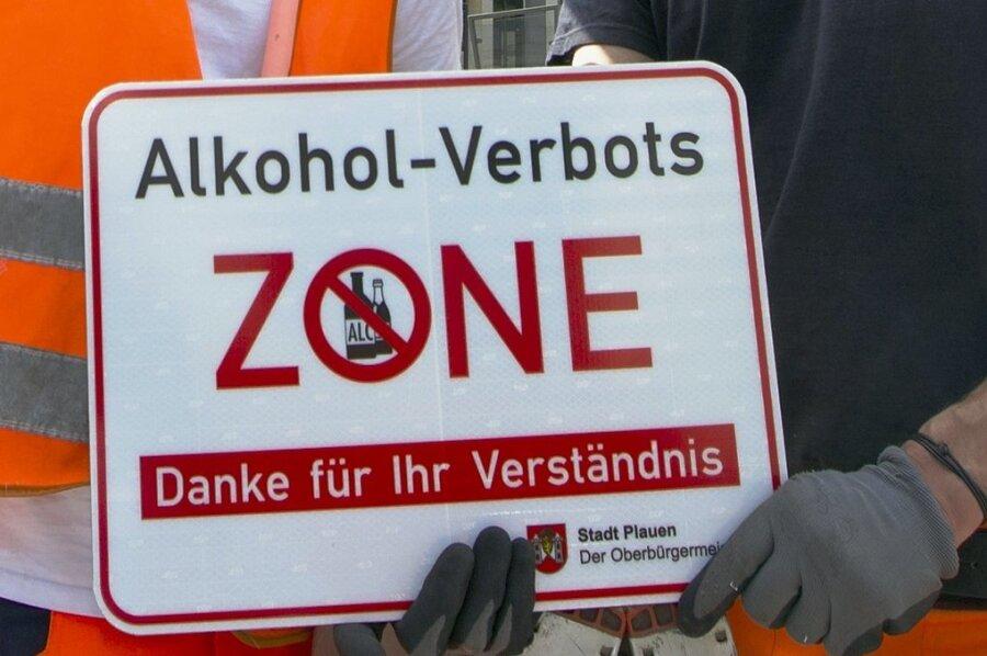 Die Alkoholverbotszone in der Plauener Innenstadt wurde aufgehoben.