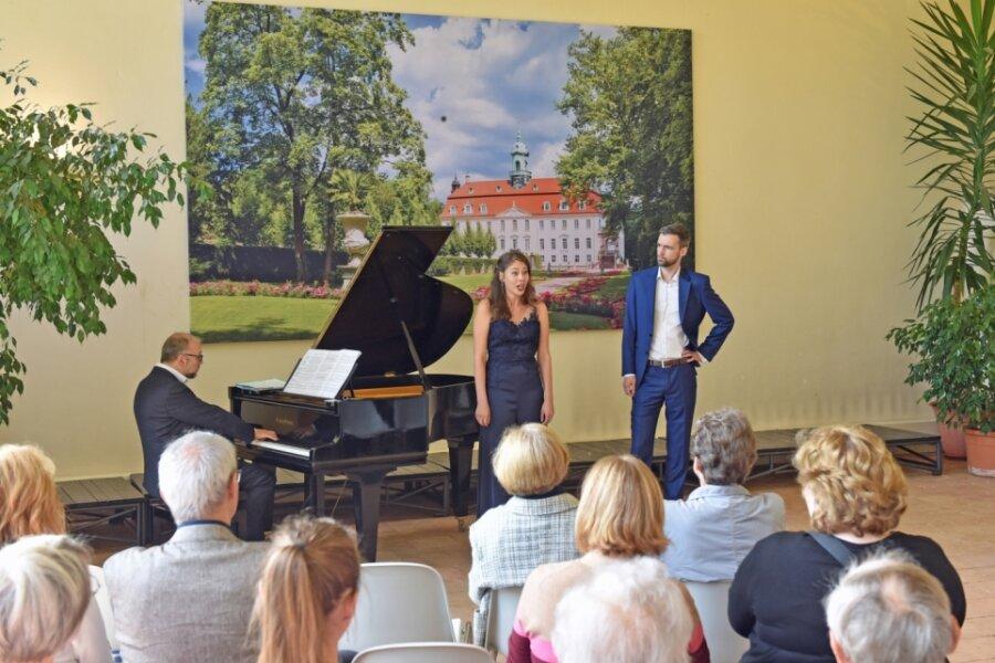 Volkslieder und Arien in der Orangerie