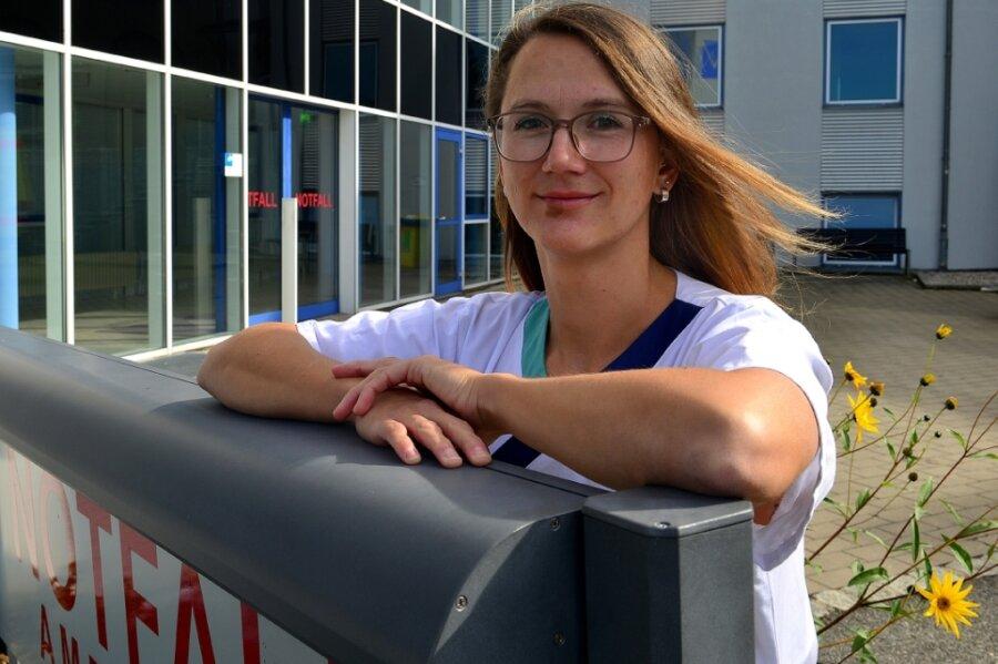 OP-Schwester Sophie Schulze kam über das Freiwillige Soziale Jahr zu ihrem Traumberuf.