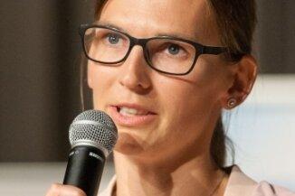 Sprach über die Höhen und die Tiefen ihrer Laufbahn: Ex-Skispringerin Ulrike Gräßler.