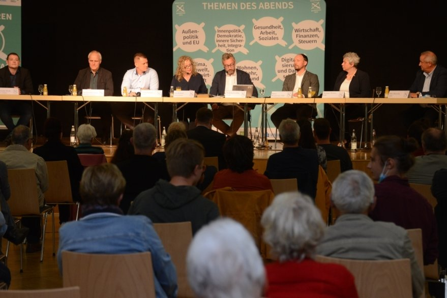 Wahlforum: Viele Fragen an Bewerber