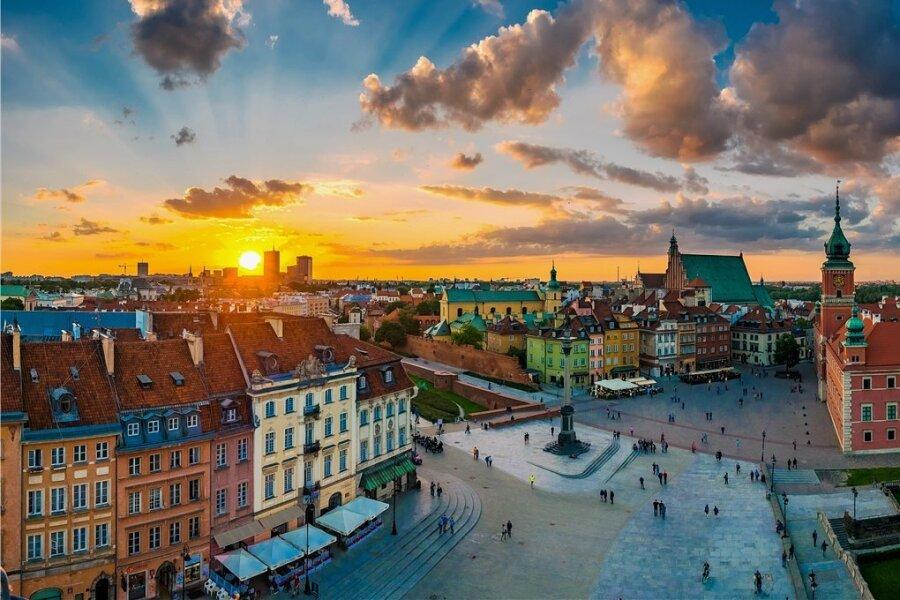 Zu Chopins Lebzeiten war die Altstadt von Warschau ein Armenviertel. Der Spross aus gutem Hause wäre da nie hingegangen. Heute lockt sie Touristen an.