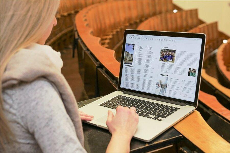 So leer könnte es auch in diesem Semester des Öfteren in den TU-Hörsälen aussehen. Die Lehre findet überwiegend digital statt.