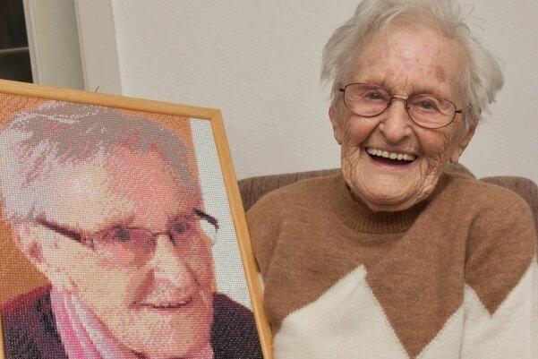 Margot Lang hat in Cranzahl ihren 100. Geburtstag gefeiert.