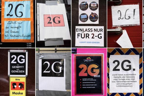 Wo jetzt die 2G-Regel im Vogtland gilt