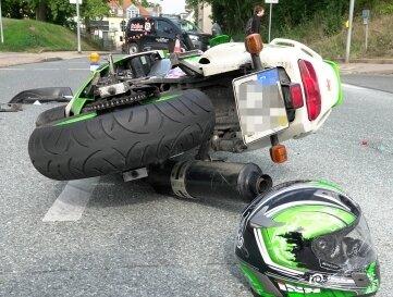 Zwei Schwerverletzte gab es am Donnerstag bei einem Unfall in Frankenberg.